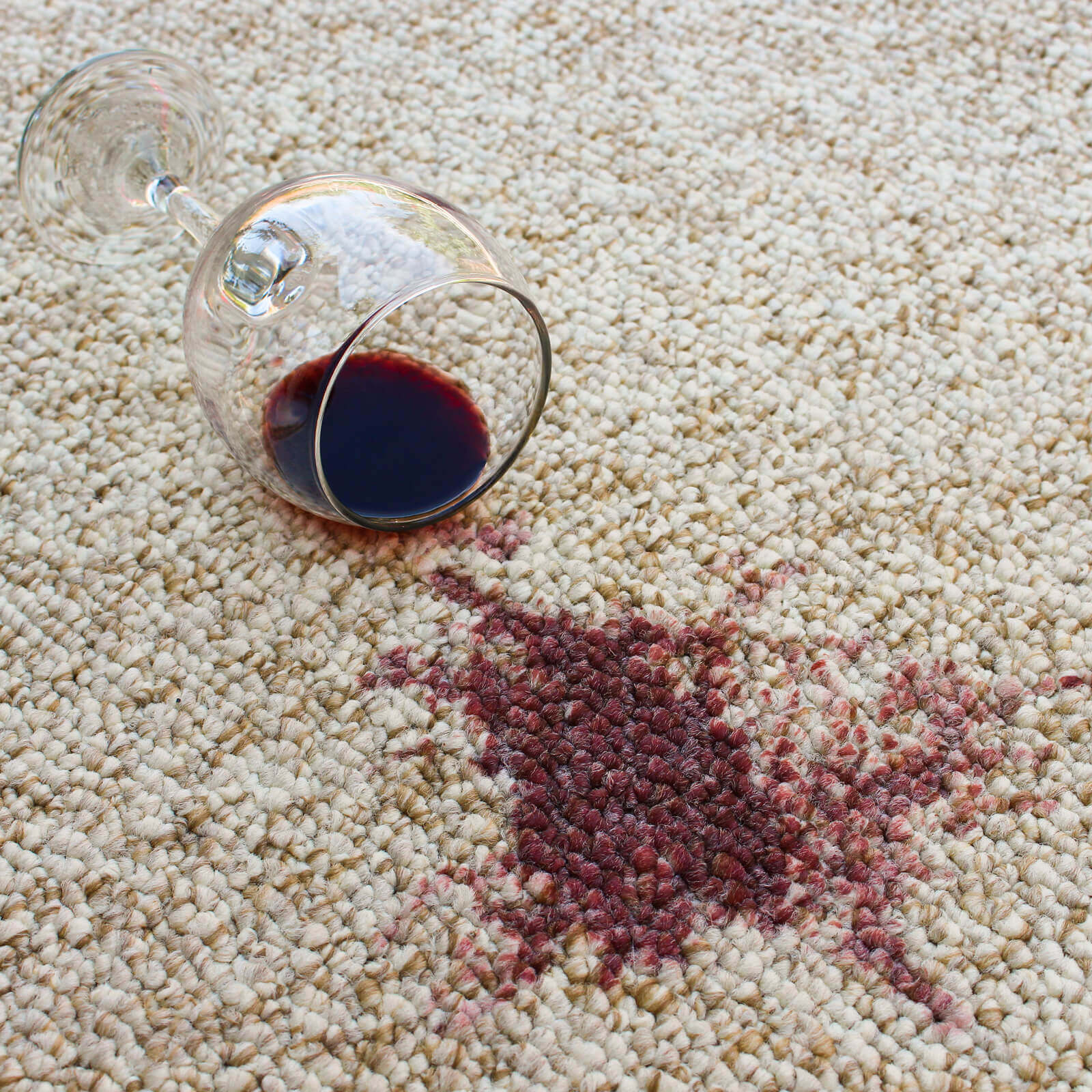 Wine stain cleaning | Great Lakes Carpet & Tile