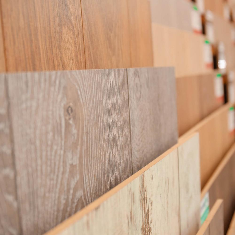 Hardwood showroom | Great Lakes Carpet & Tile