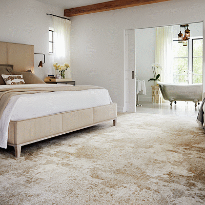 Bedroom carpet flooring | Great Lakes Carpet & Tile