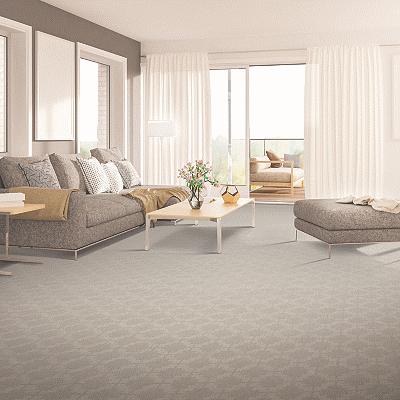Lavish living room carpet flooring | Great Lakes Carpet & Tile