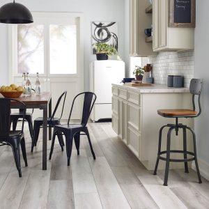 Farm house kitchen vinyl flooring | Great Lakes Carpet & Tile