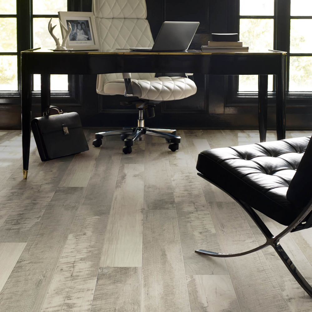 Pier park office flooring | Great Lakes Carpet & Tile