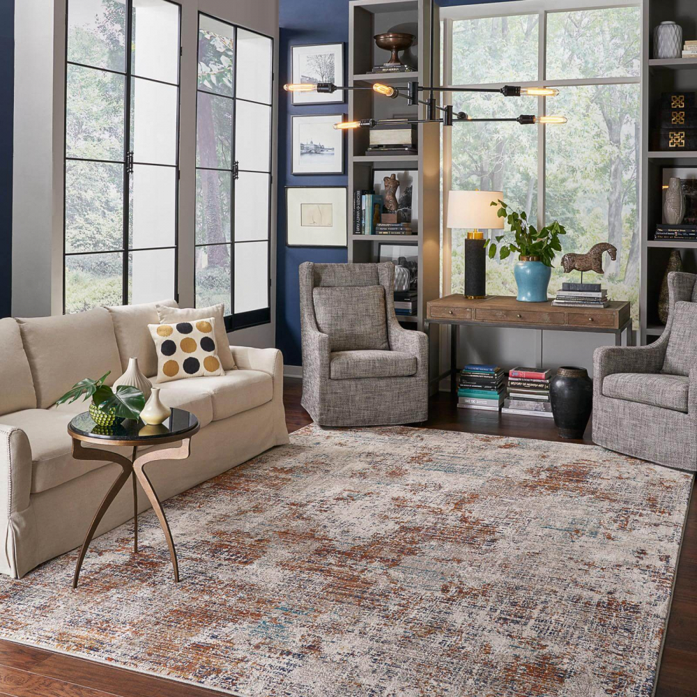Living room area rug | Great Lakes Carpet & Tile