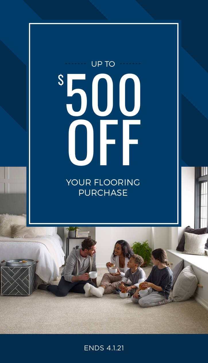 Upto 500 off on your next purchase | Great Lakes Carpet & Tile