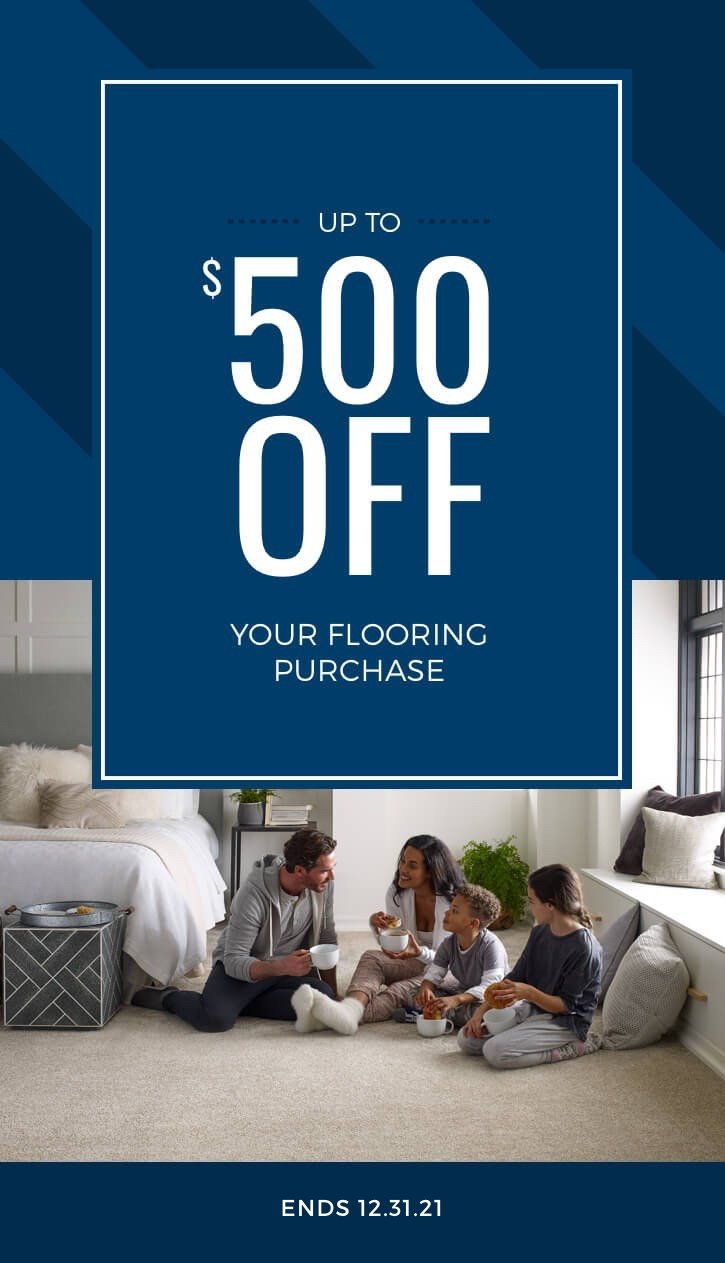 save 500 off flooring