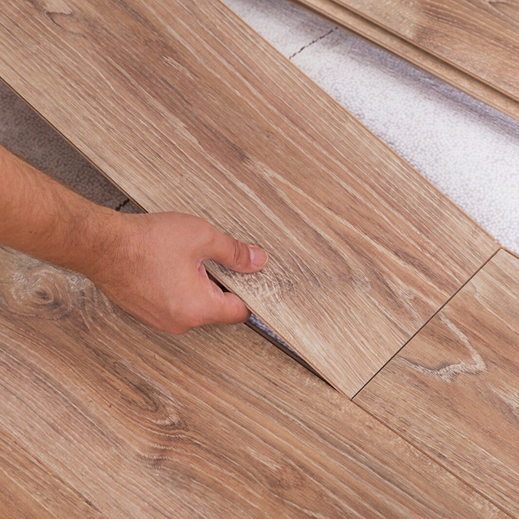 Installing laminate flooring | Great Lakes Carpet & Tile